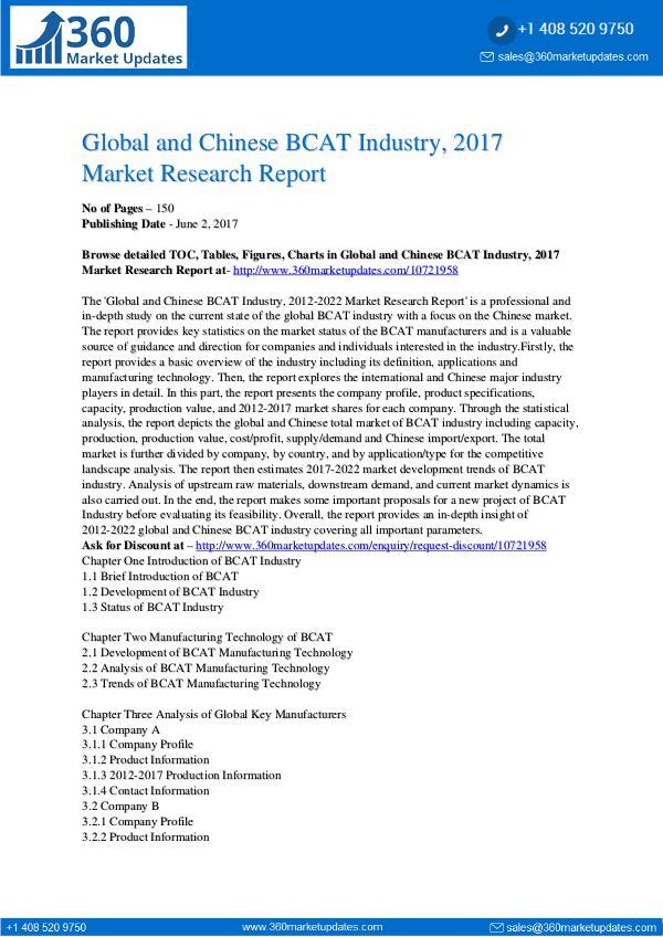 BCAT-Industry-2017-Market-Research-Report