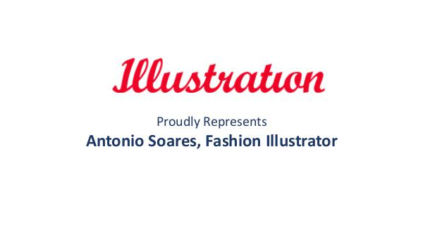 Illustrationltd Antonio Soares, Fashion Illustrator