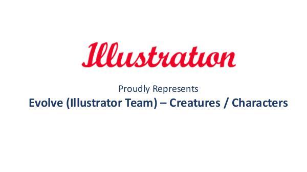 Illustrationltd Evolve (Illustrator Team) – Creatures / Characters