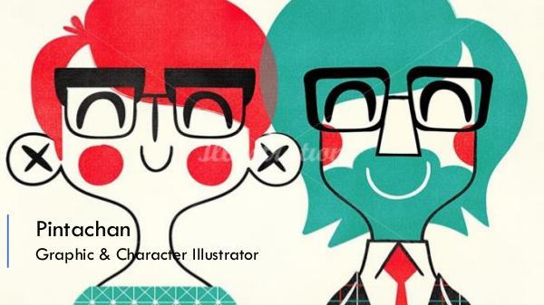 Pintachan - Graphic & Character illustrator Pintachan - Graphic & Character illustrator
