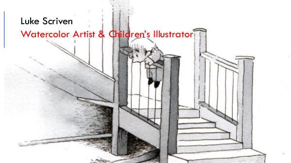 Luke Scriven - Watercolor Artist & Children Illustrator Luke Scriven - Watercolor Artist