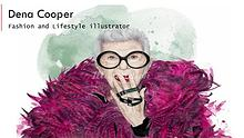 Dena Cooper, Fashion and Lifestyle Illustrator