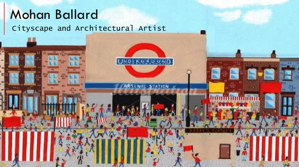 Mohan Ballard - Cityscape and Architectural Artist, London Mohan Ballard