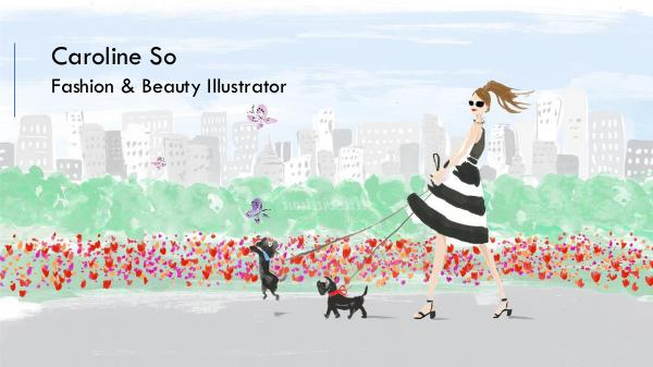 Caroline So - Fashion & Beauty Illustrator, Southern California Caroline So
