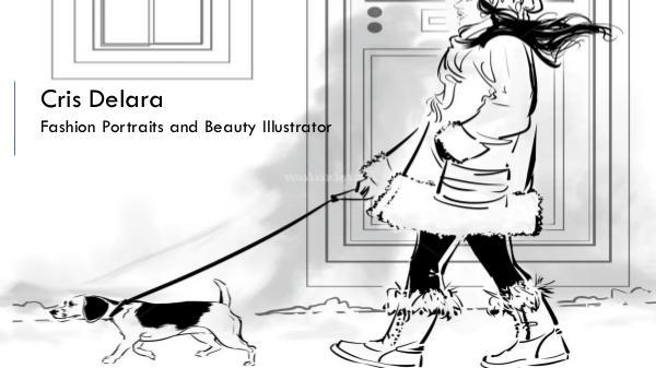 Cris Delara - Fashion and Beauty Illustrator Cris Delara