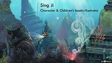 Sing Ji - Character & Children's books illustrator, Los Angeles