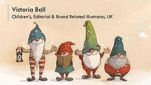 Victoria Ball - Children's, Editorial & Brand Related Illustrator, UK