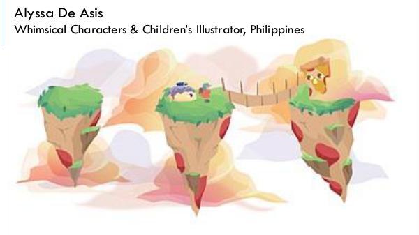 Alyssa De Asis - Whimsical Characters & Children's Illustrator,London Alyssa De Asis