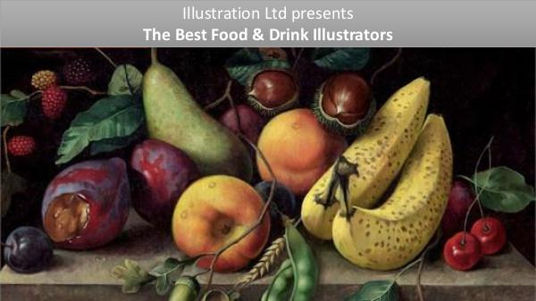 The Perfect Food & Drink Illustrators From UK, USA Food & Drink