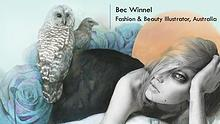 Bec Winnel - Fashion & Beauty Illustrator, Australia