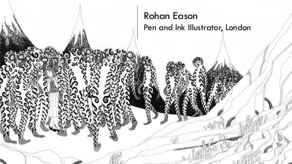 Rohan Eason - Pen & Ink Illustrator, London Rohan Eason
