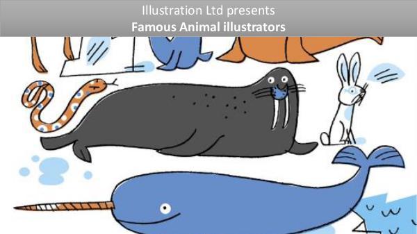 Famous Animal Illustrators From UK & USA Animal Illustration
