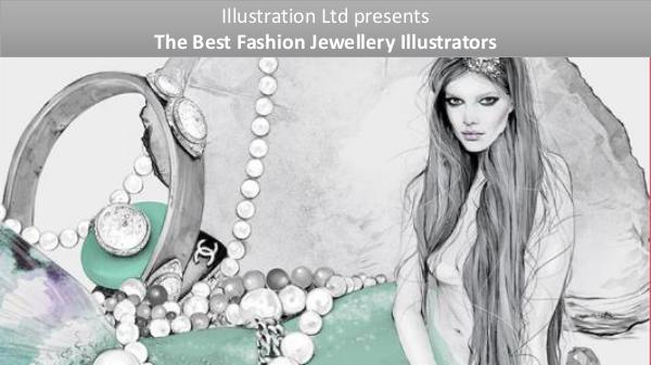 The Best Fashion Jewellery Illustrators Jawellery Illustration