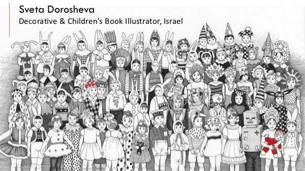 Sveta Dorosheva – Decorative & Children's Book Illustrator, Israel Sveta Dorosheva