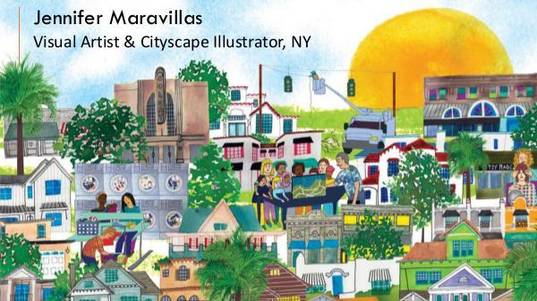 Jennifer Maravillas – Visual Artist & Cityscape Illustrator, NY Jennifer Maravillas