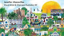 Jennifer Maravillas – Visual Artist & Cityscape Illustrator, NY