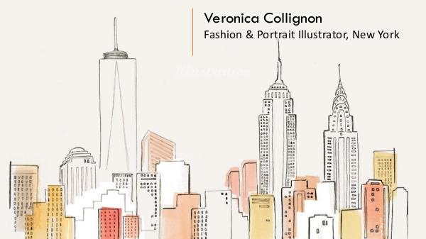 Veronica Collignon - Fashion & Portrait Illustrator, New York Veronica Collignon