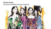 Briana Kranz - Live Artist and Fashion Illustrator. California