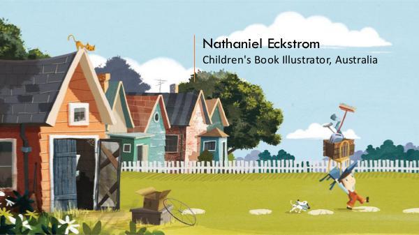Nathaniel Eckstrom - Children's Book Illustrator, Australia Nathaniel Eckstrom