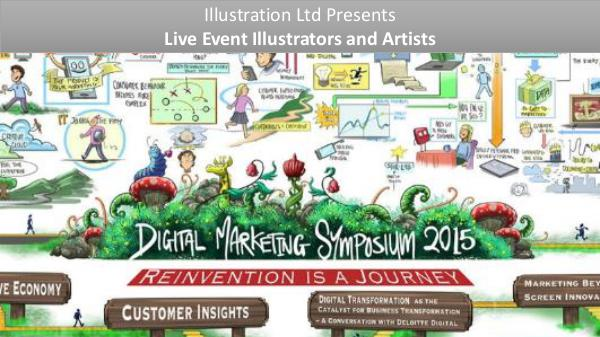 Live Event Illustrators and Artists For Hire Live Event Illustrators and Artists