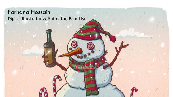 Farhana Hossain - Digital Illustrator & Animator, Brooklyn Farhana Hossain