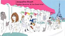 Jacqueline Bissett - Fashion Illustrator & Live Event Artist