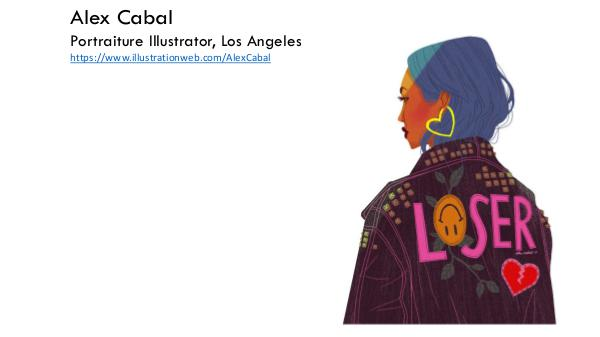Alex Cabal - Portraiture Illustrator, Los Angeles Alex cabal