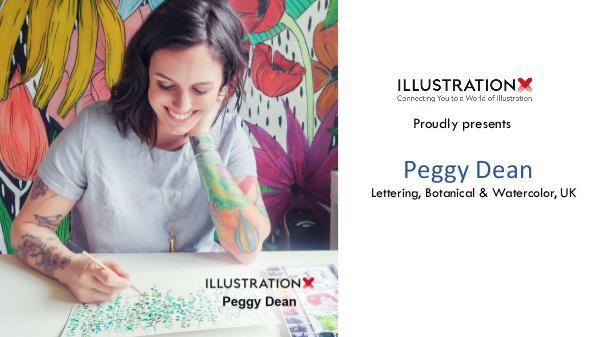 Peggy Dean - Lettering, Botanical & Watercolor, Portland peggy