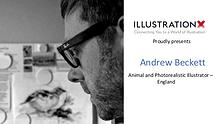 Andrew Beckett - Animals and Photorealistic illustrator, England