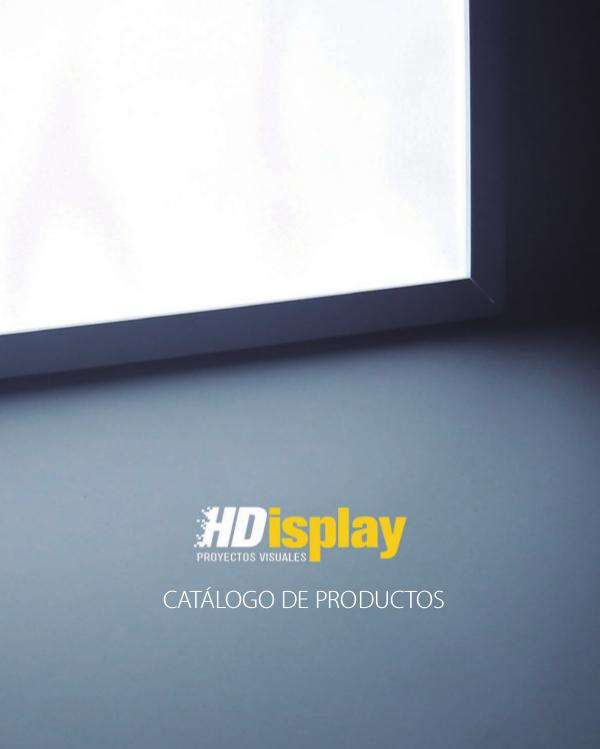 Nuevo Catálogo de Productos 2017 Catalogo_LED_HDisplay