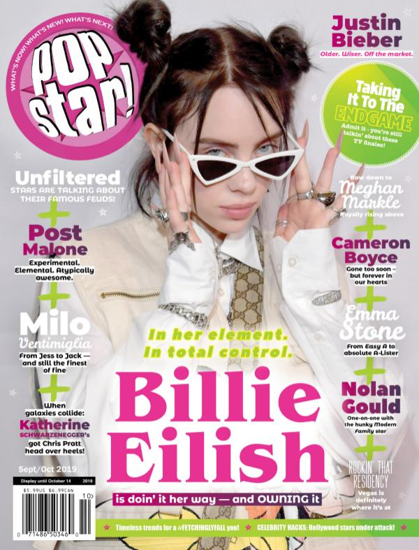 POPSTAR! Magazine Billie Eilish
