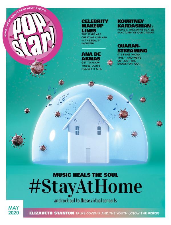 POPSTAR! Magazine #StayAtHome - May