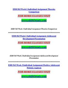 EDD 563 STUDY creative knowledge /edd563study.com