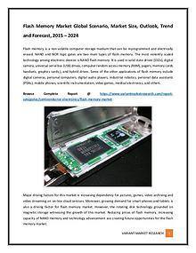 Flash Memory Market Global Scenario, Market Size, Outlook, Trend and