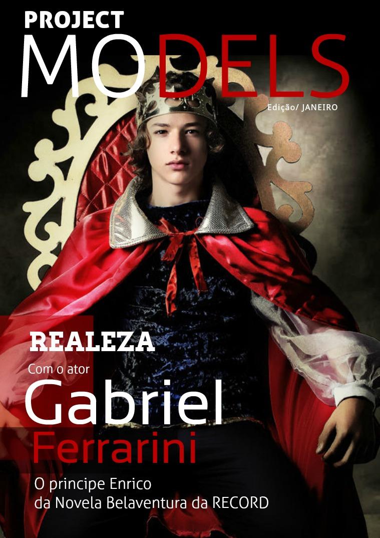 REVISTA PROJECT MODELS - ENSAIO REALEZA Revista Project Models - Realeza