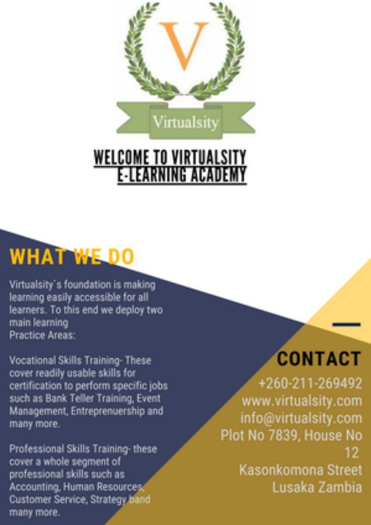 Virtualsity Academy Volume 1