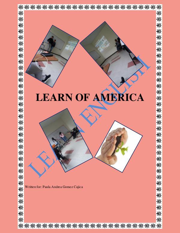 LEARN OF AMERICA LEARN ENGLISH