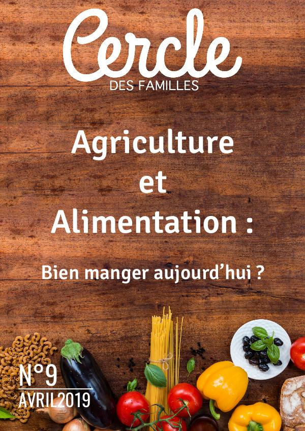 2019 #9 Agriculture et Alimentation