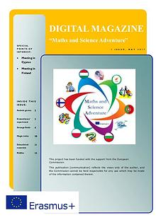 "Digital Magazine ""Maths and Science Adventure"""