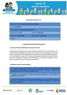 PLAN COACH EDUCATIVO
