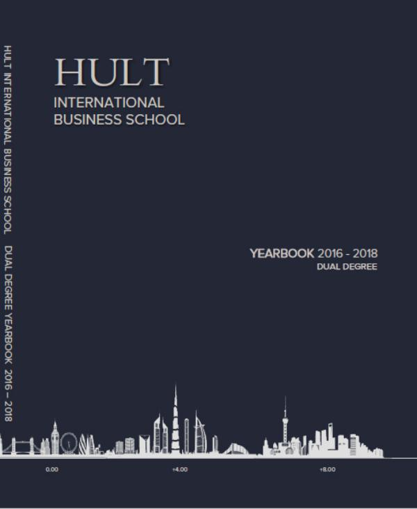 The Hultian Dual Degree Yearbook 2018