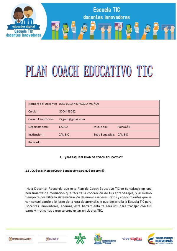 COACHING EDUCATIVO Plan_Coach_Educativo_TIC