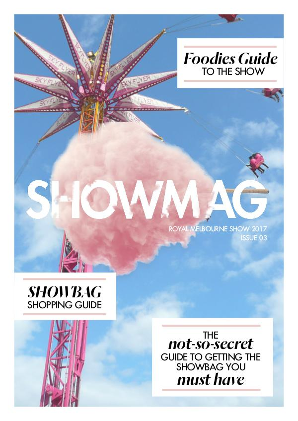 Melbourne ShowMAG 2017 ISSUE 3