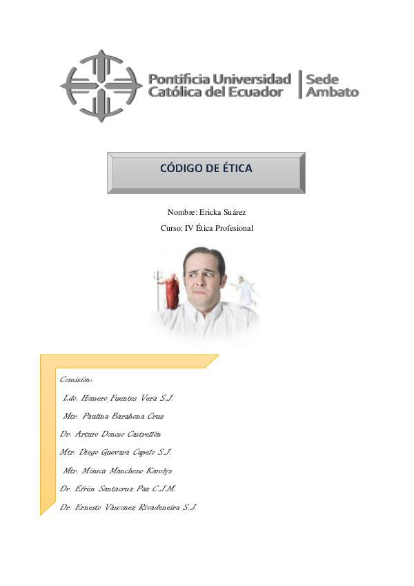 Código Ético capitulo 2