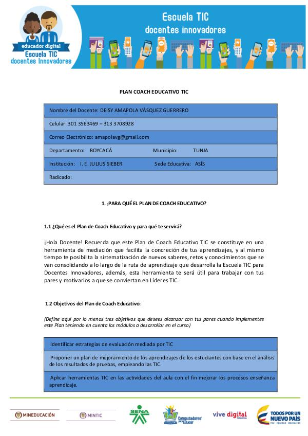 Plan Coach Educativo Plan_Coach_Educativo Deisy