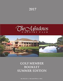 Summer Golf Booklet