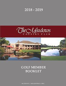 2018 - 2019 Member Booklet