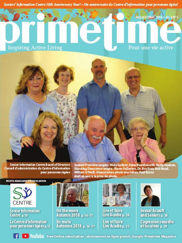 PrimeTime Magazine PrimeTime Fall 2018