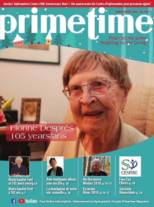 PrimeTime Magazine PrimeTime Winter 2018