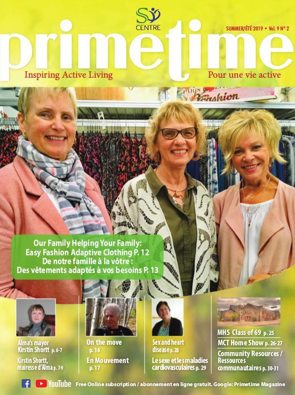 PrimeTime Magazine PrimeTime Summer 2019